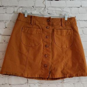 Madewell A line Skirt Sz 10